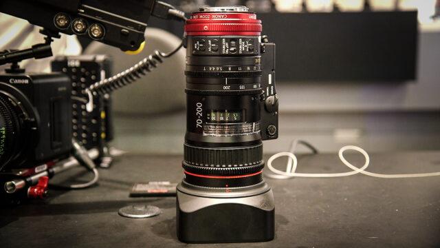 Canon Compact Cine Servo 70-200 T4.4