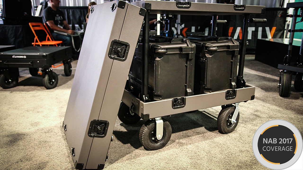 InovativeのScout NXT - チェックインして飛行機に積めるカート