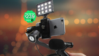 SmoothVu - a Smartphone Gimbal with Much More to Offer