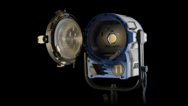 Relamp LED Replacement in Arri Fresnel Light