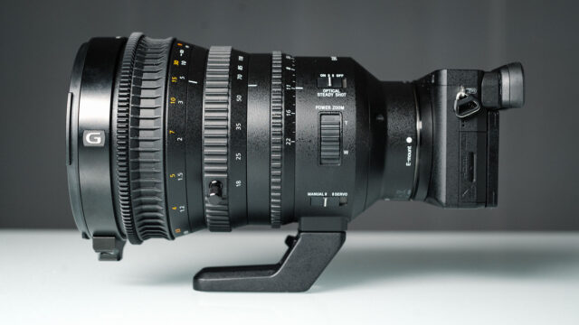 Sony 18-110mm Review - F/4 E PZ G OSS Lens