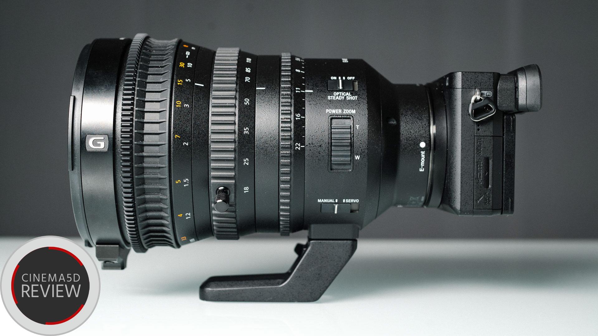 Reseña del Sony 18-110mm - Un zoom para cine y video único en su género