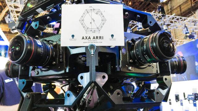AXA ARRI – A 360 Rig With Ten ALEXA Minis