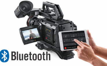 Blackmagic Enable Bluetooth Camera Control In Firmware 4.4 Update