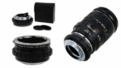 Fotodiox DLX Stretch Adapter - ND Filter, Macro and Aperture Control in One