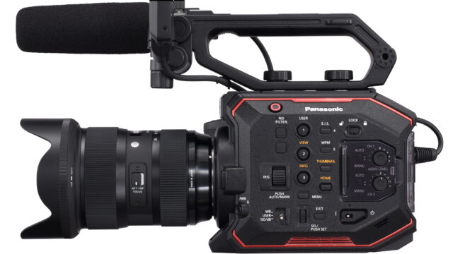 Panasonic AU-EVA1 Unveiled – Compact, Rich in Features and Under $8000