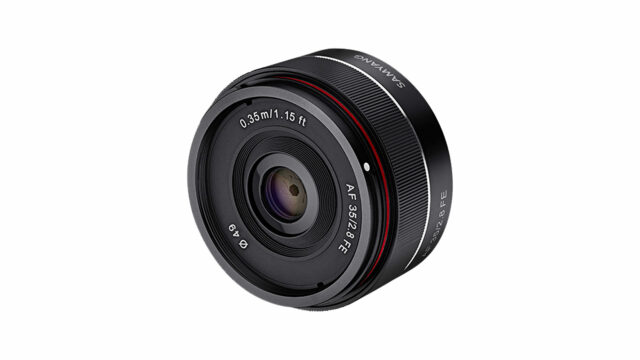 Tiny New Samyang AF 35mm f/2.8 Announced for E-Mount Lens Line-up