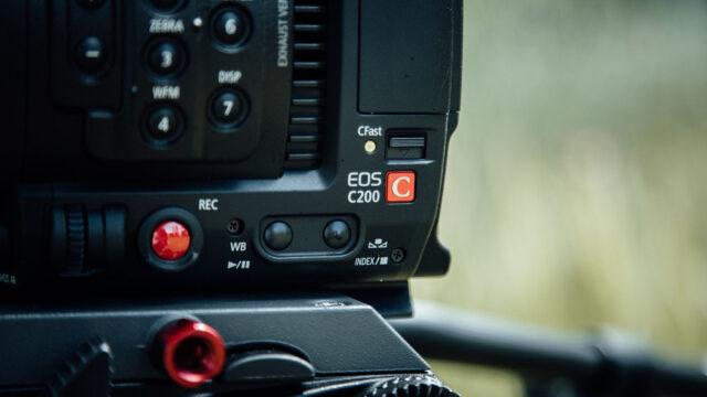 Canon C200 CFast 2.0 Slot