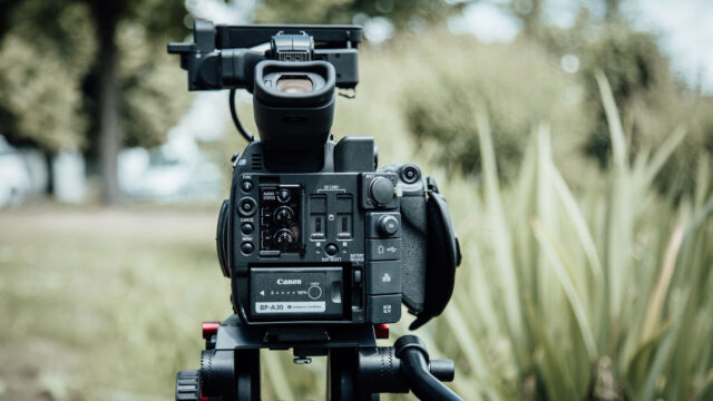 Canon C200 back