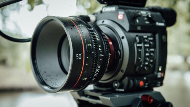 Canon C200 with 50mm Cine Prime Lens