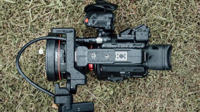 Canon EOS C200 body top