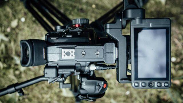 Canon C200 LCD