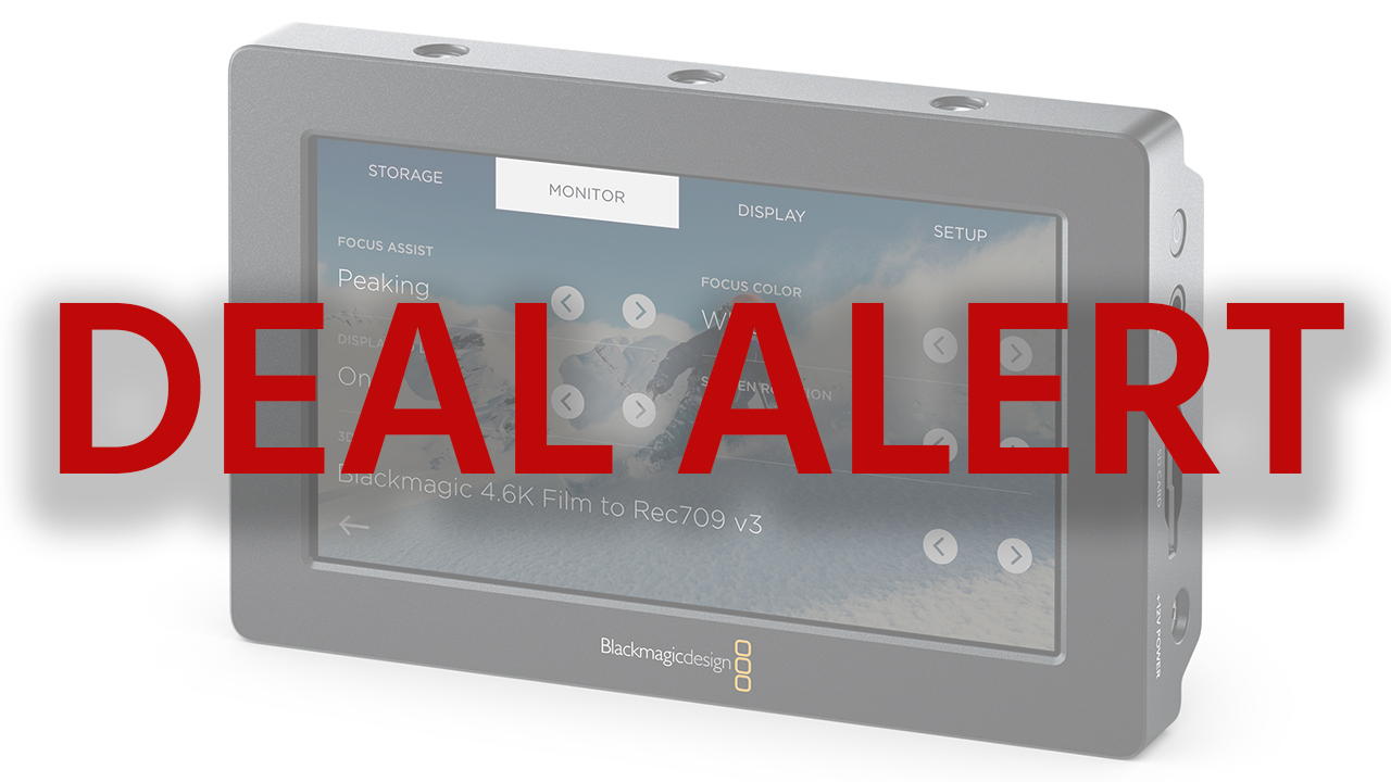 """Price Drop on 5"""" and 7"""" Blackmagic Design Video Assist"""