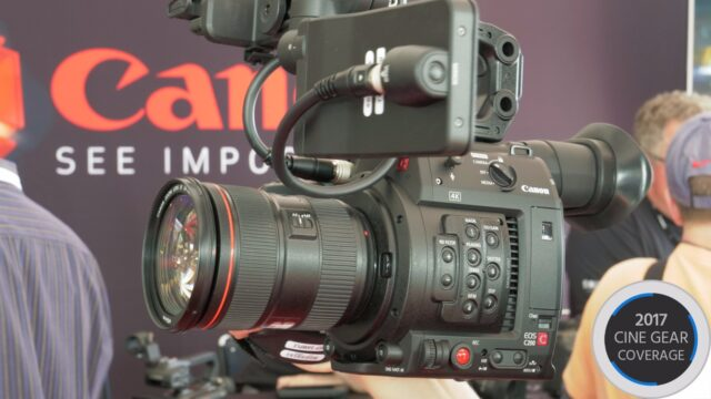 Canon C200 Hands-On & Interview
