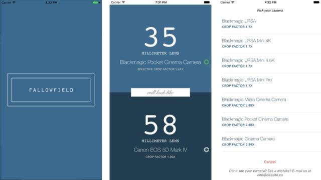 Fallowfield App Interface