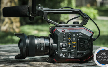Panasonic AU-EVA1 Unveiled - Compact, Rich in Features and Under $8000
