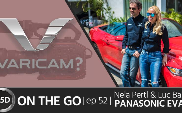 Panasonic EVA1: RAW, Slo-Mo & Removable IR Filter - Nela Pertl & Luc Bara - ON THE GO - episode 52