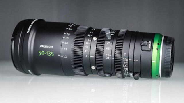 Fujinon MK 50-135mm Review - gears