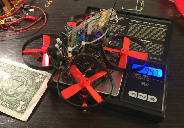 Miniature Drone to Pull off Impossible Drone shot