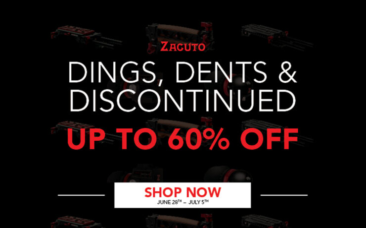 DEAL ALERT: Zacuto Clearance Sale — Up to 60% Off
