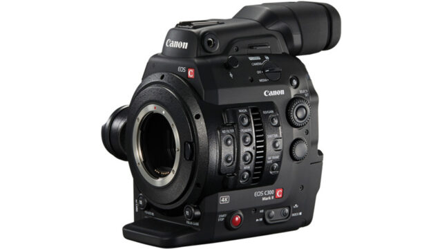 Canon C300 mark II price reduced - front