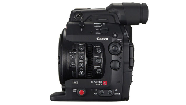 Canon C300 mark II price reduced - side