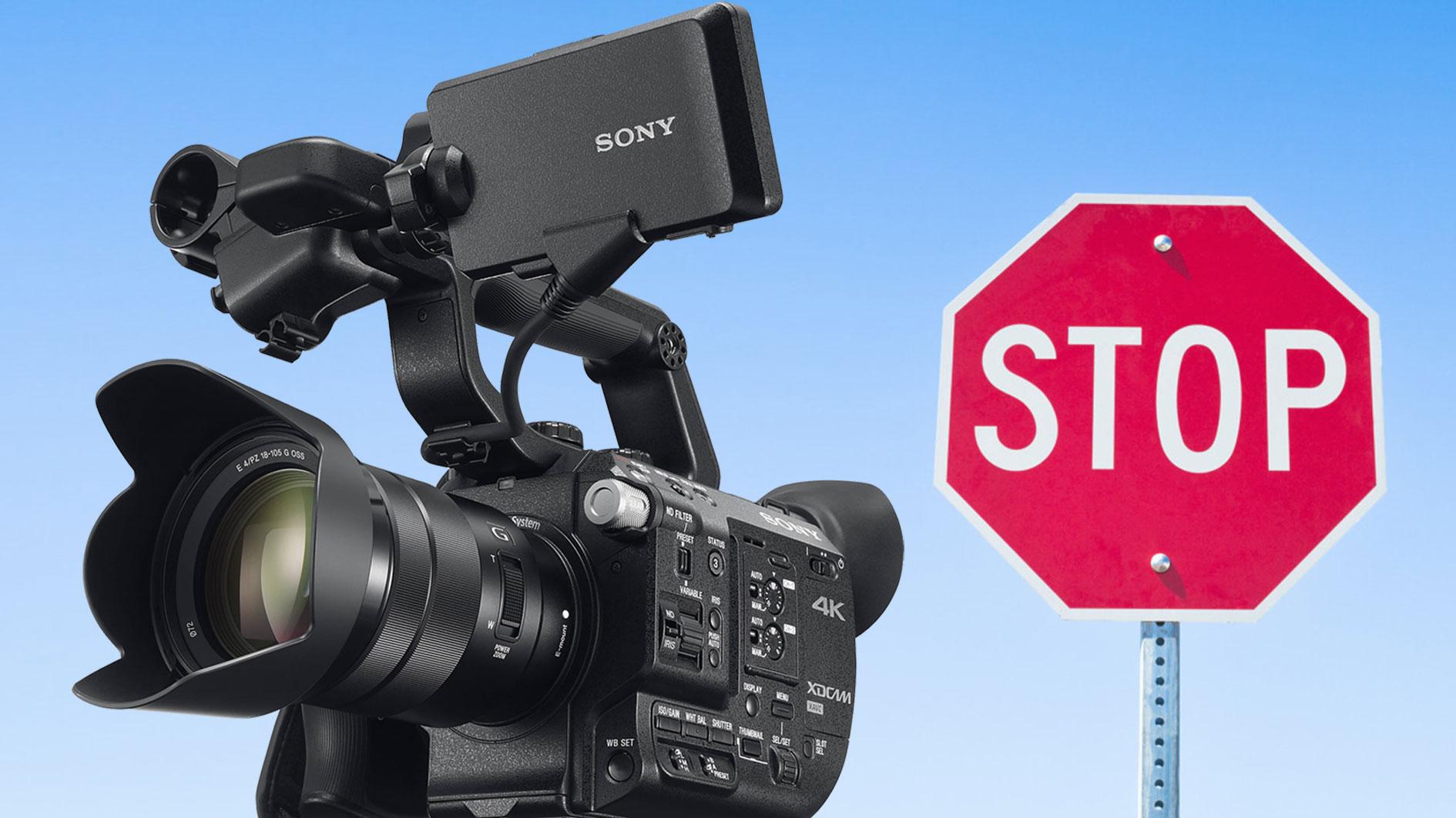 ソニーがFS5のファームウエア4.0を一時配信中止