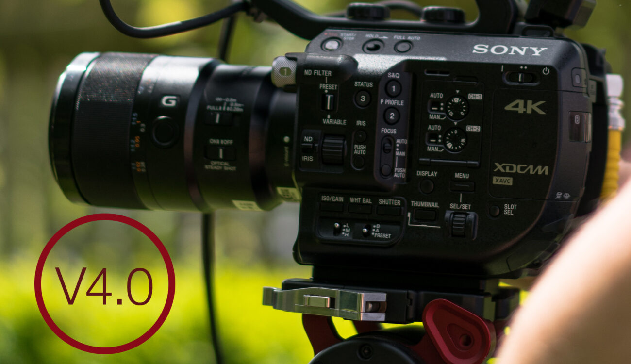 Sony Unlock Instant HDR Feature for FS5 Owners, 120fps Continuous