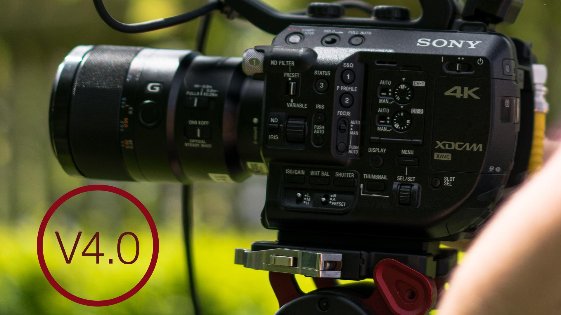 ソニーがFS5ファームウエアをアップデート - HDRやHD120fpsに対応