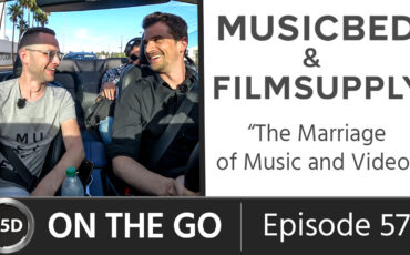 Musicbed & Filmsupply: The Marriage of Music and Video - with CEO Daniel McCarthy - ON THE GO – Episode 57