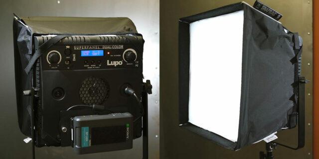 SnapBAG 1x1 LED Softbox