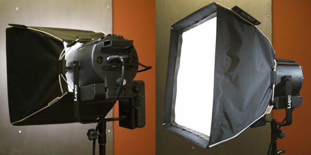 DOP Choice SnapBAG Flex LED Softbox