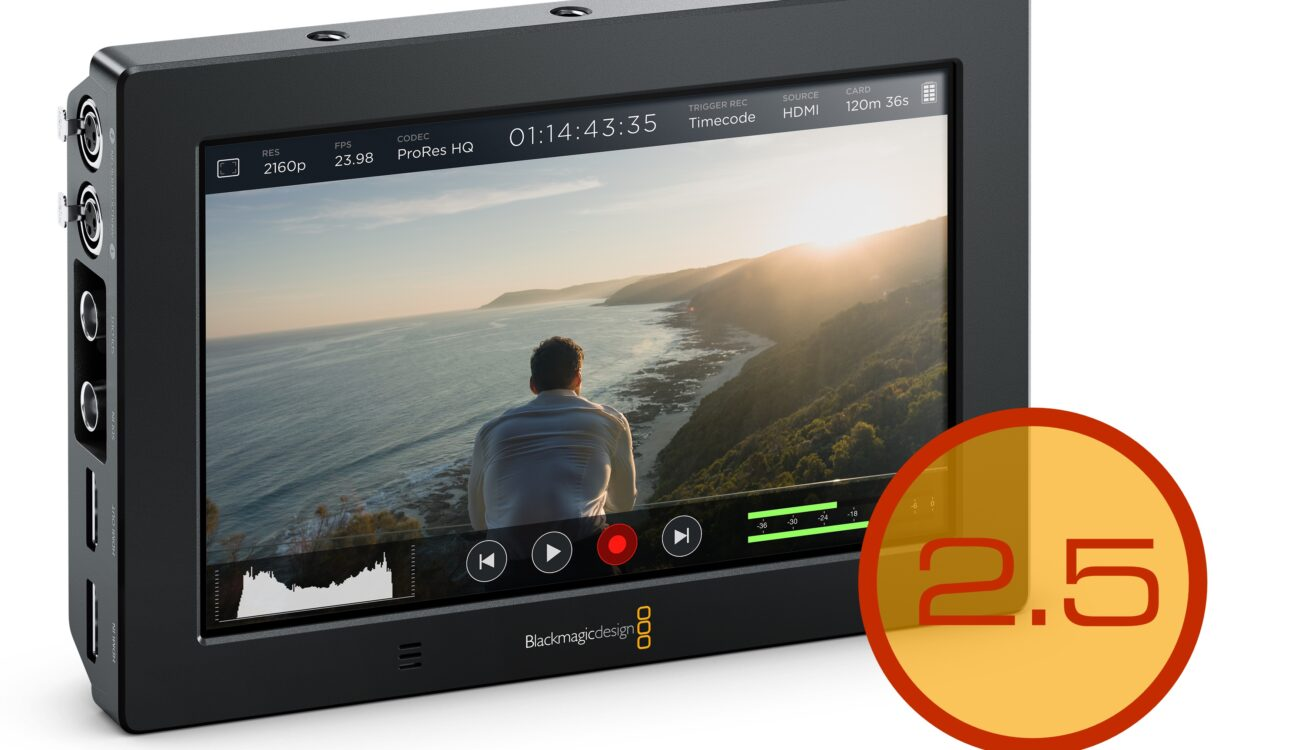 Blackmagic Design Announce Video Assist 2.5 Update