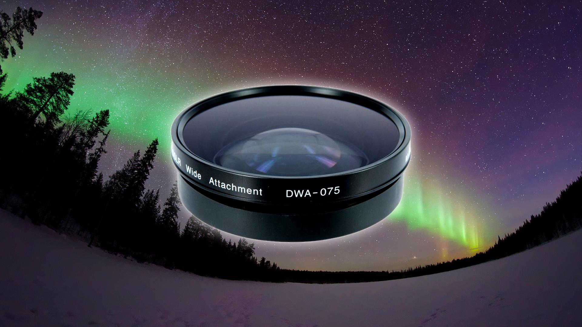 ズノー(Zunow) DWA-075 DSLR超広角コンバージョンレンズ
