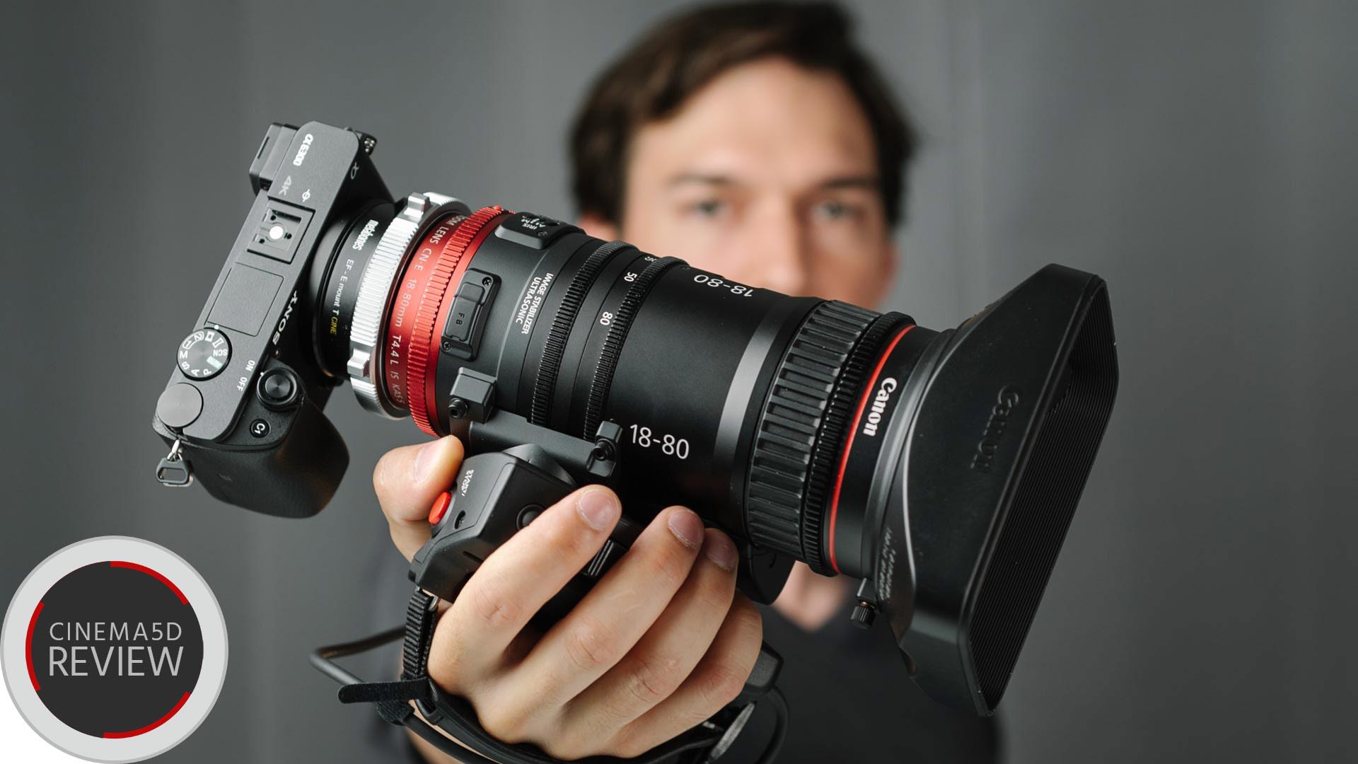 "Reseña Canon 18-80mm T4.4 - Probando el lente servo ""Cine"" de Canon"