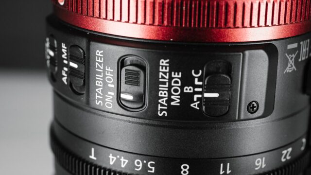 Canon 18-80mm Review - Optical Stabilization