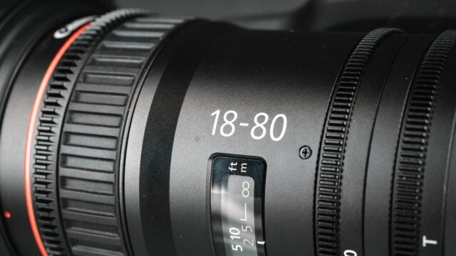 Canon 18-80mm Review - Cine Lens Gears