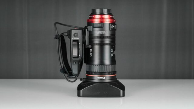 Canon 18-80mm Review - Lens with sunhood