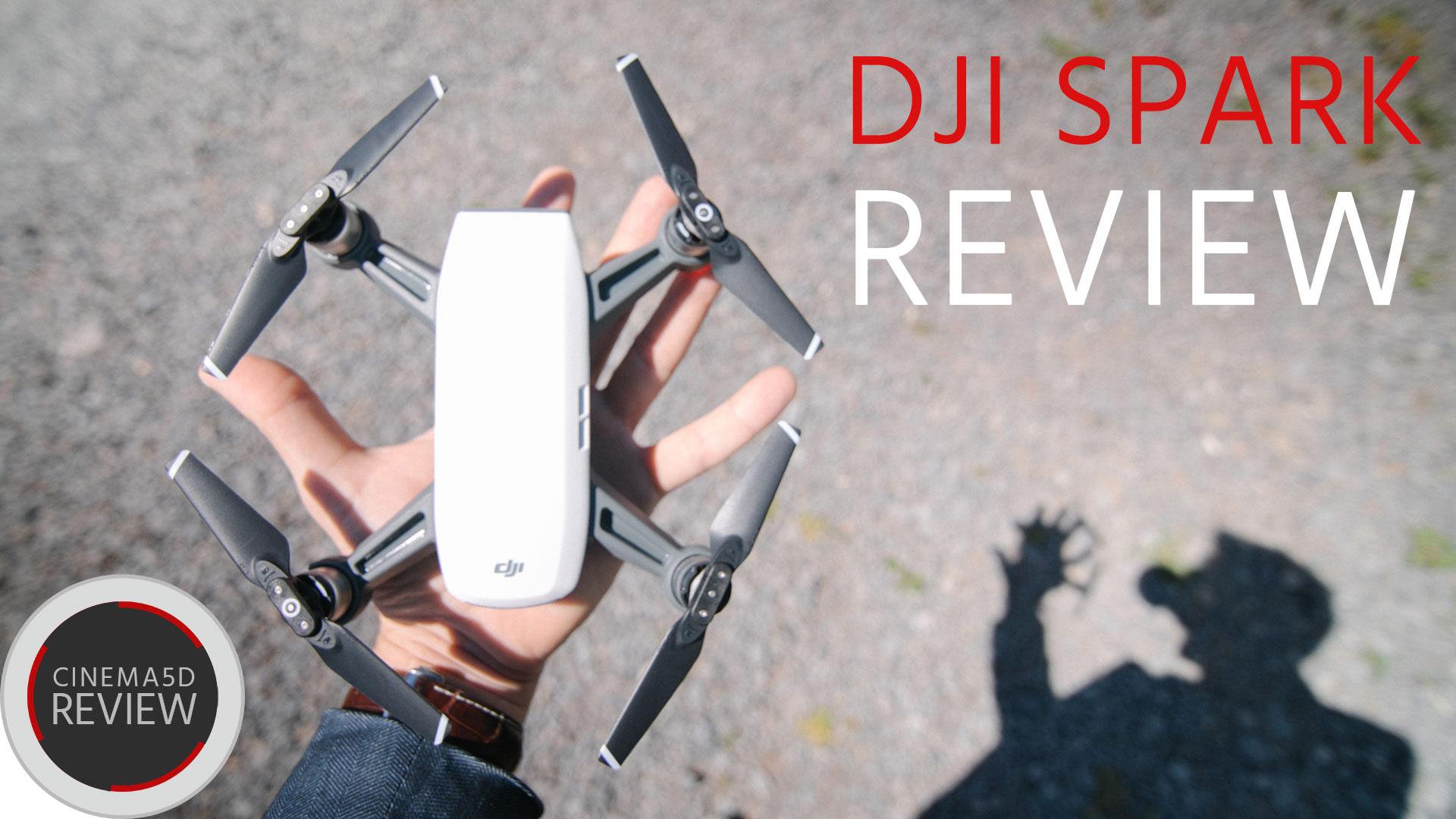 DJI Sparkレビュー - この小型ドローンはプロ用途に使えるか?