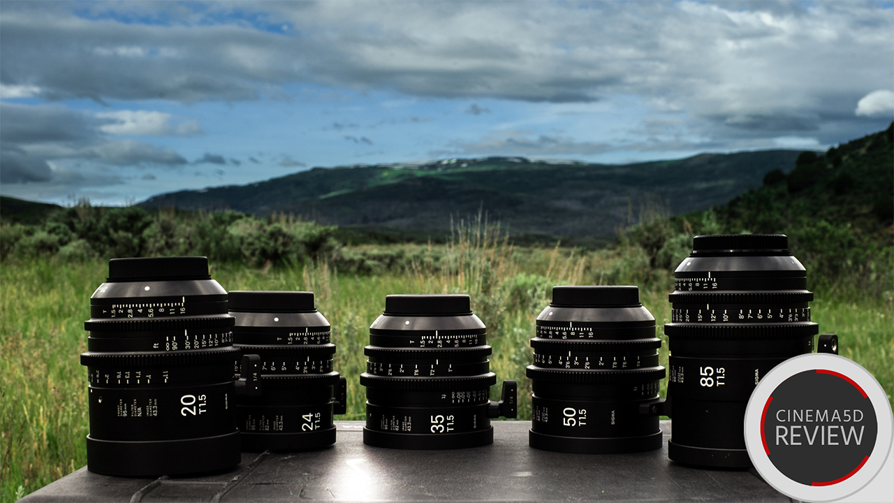 Sigma Cinema Primes - A Hands-on Review in the Field