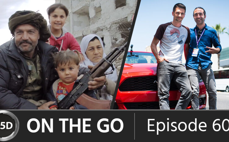 """The Gear Behind """"Resistance is Life"""" with Filmmaker Apo Bazidi - ON THE GO – Episode 60"""