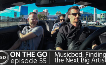 Musicbed: Finding the Next Big Artist - feat. CEO Daniel McCarthy - ON THE GO – Episode 55
