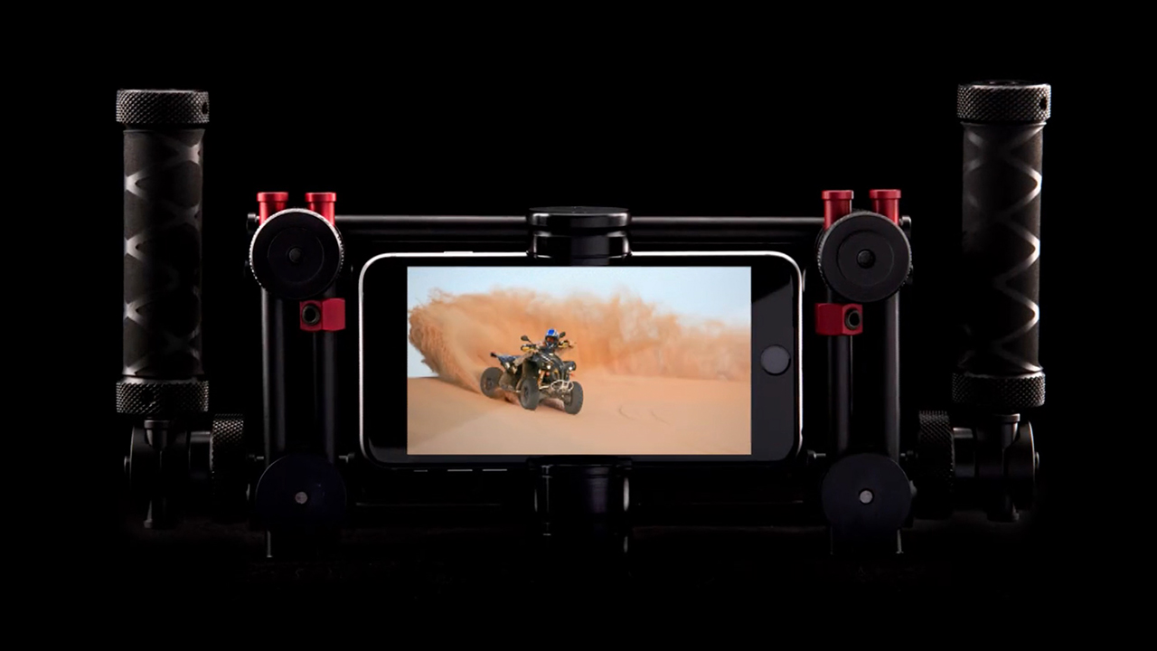 Matthews Grip Goes Mobile - MSE Rover Smartphone Cage | cinema5D