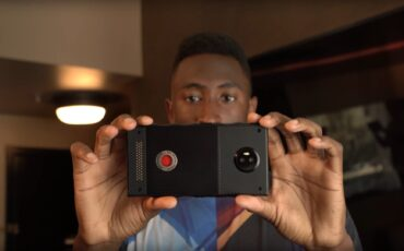 RED Hydrogen - First Prototype Hands-on Video