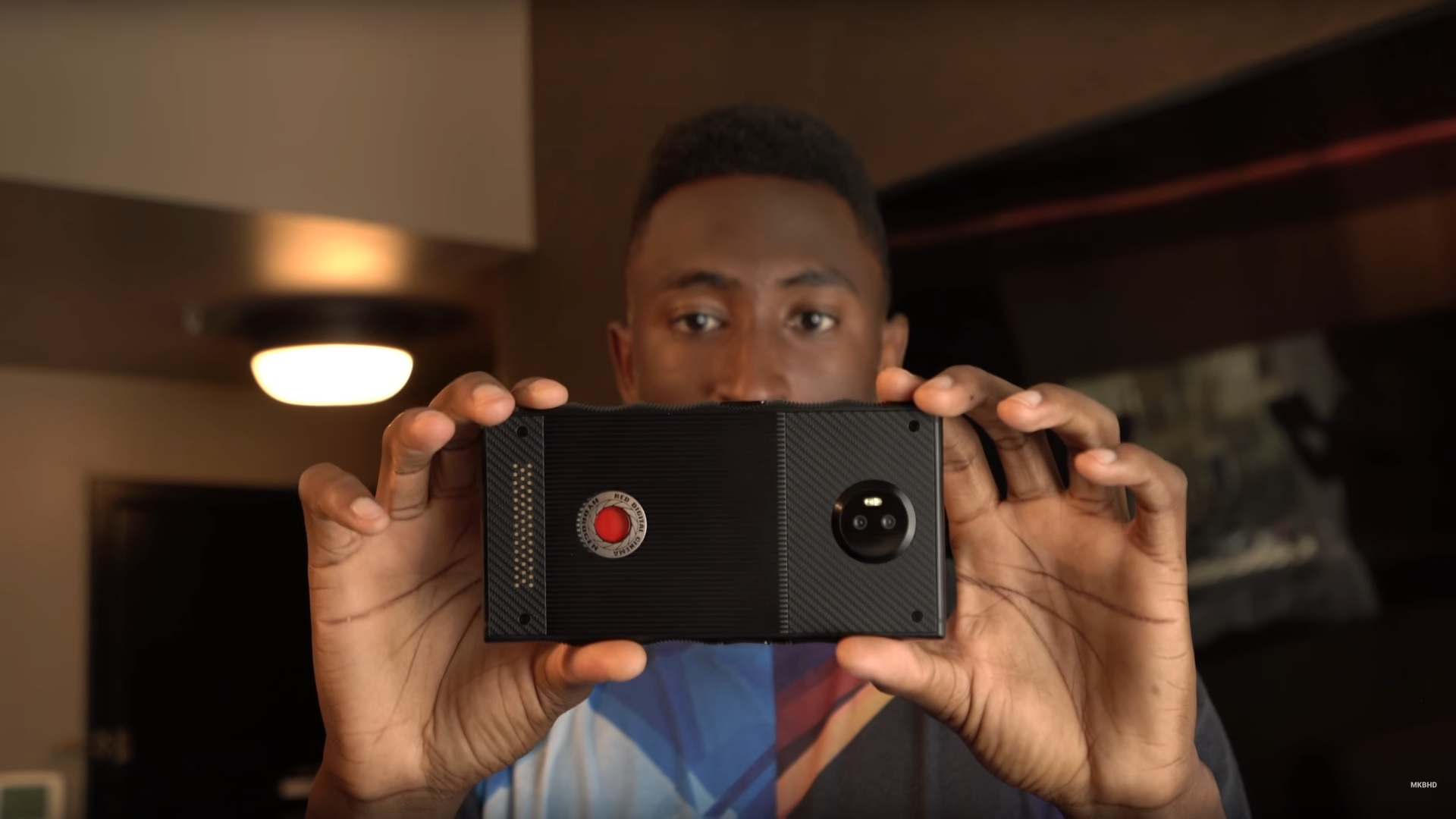 MKBHD shows off non-functional RED Hydrogen phone prototypes