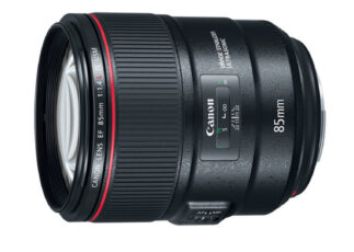 Canon's New 85mm 1.4 - Now with Image Stabilization