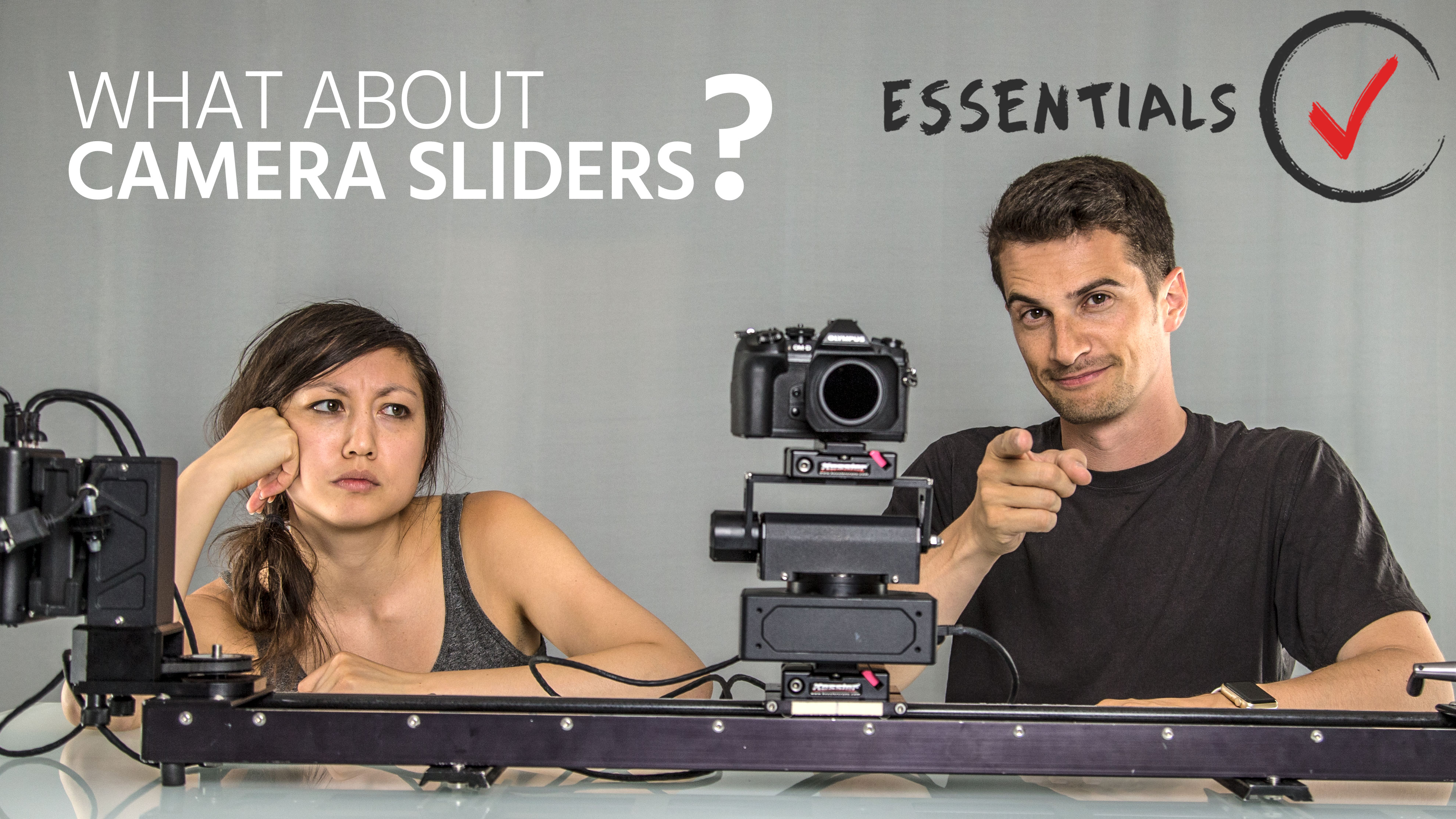 What About Camera Sliders? – How to Use Them, Manually and Motorized