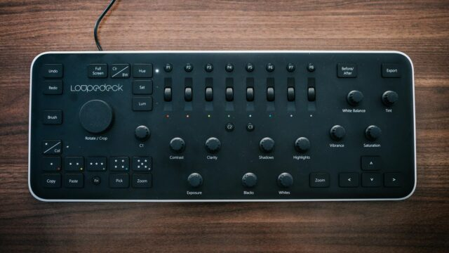 Loupedeck Review - The Button Layout