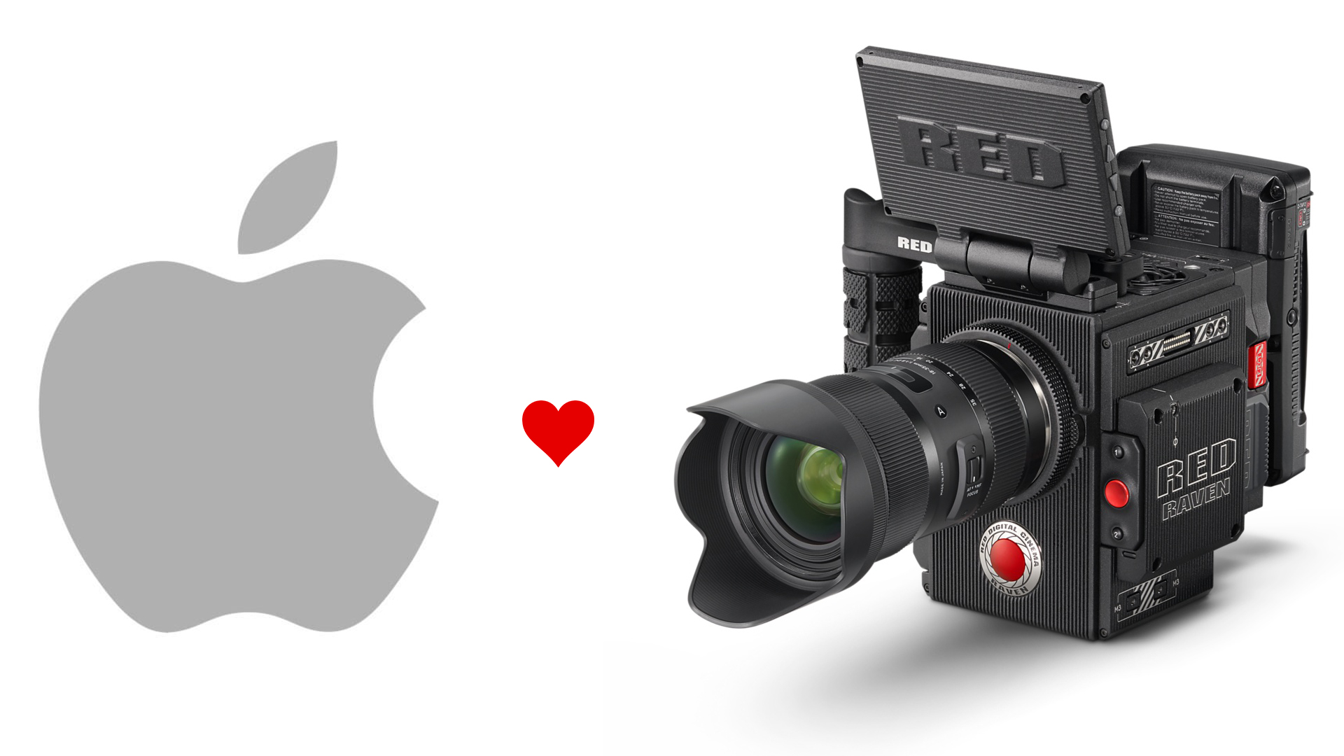 Red raven camera kit now sold exclusively through apple for Camera and camera