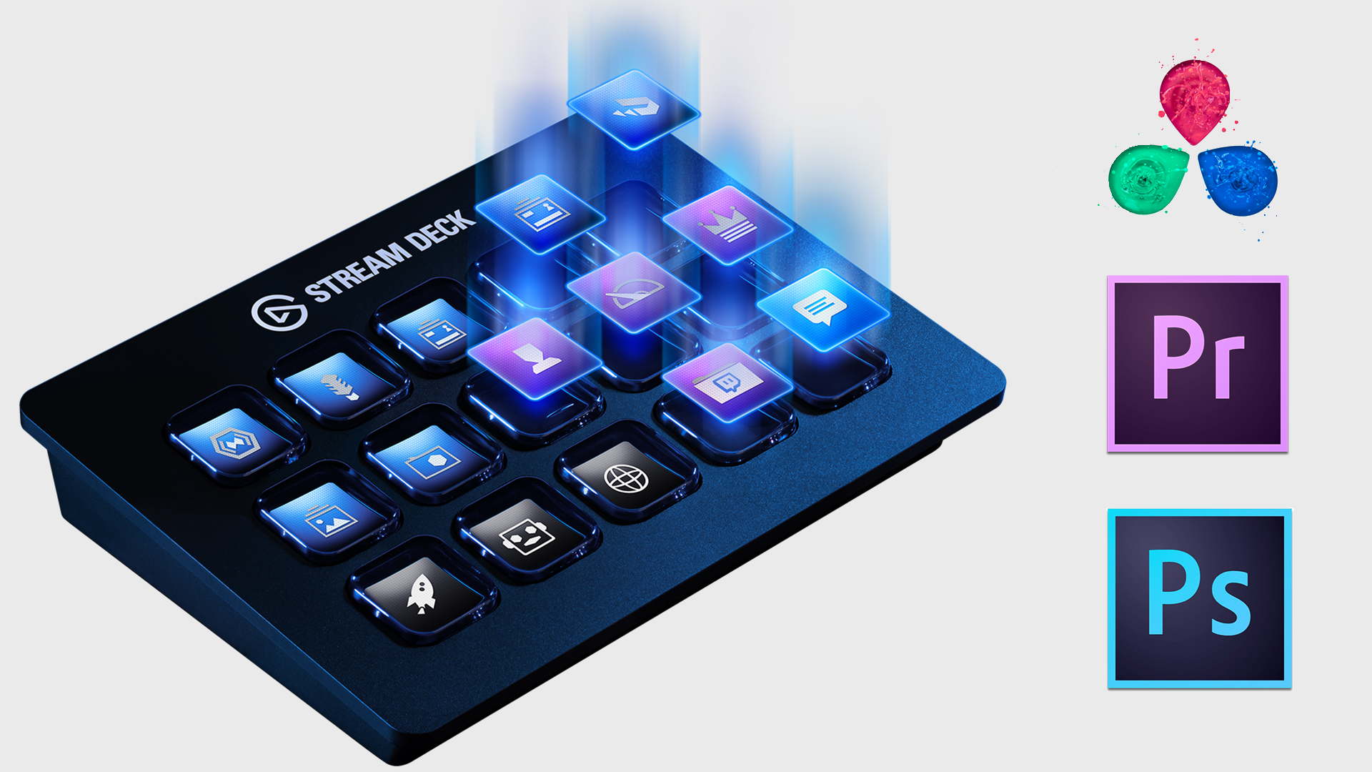 Elgato Stream Deck - a Programmable Keyboard for your Pro-App